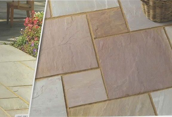20 m² Rippon Sandstone Patio Kit
