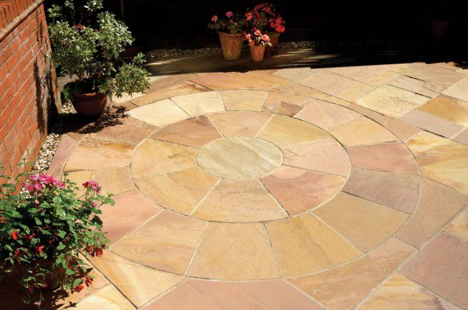 Modak Sandstone Patio Packs Mixed SIzes