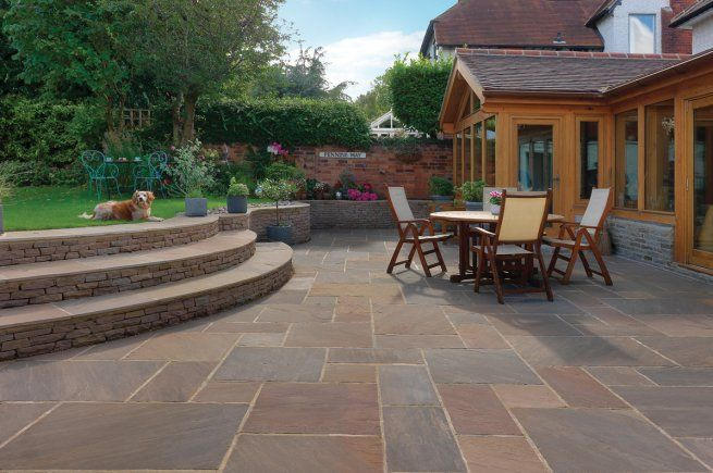 Raj Blend Sandstone Patio Pack Mixed Sizes